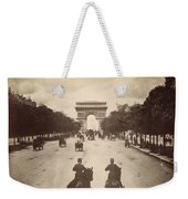 Paris Champs-�lys�es, C1900 Weekender Tote Bag