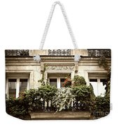 Paris Windows Weekender Tote Bag