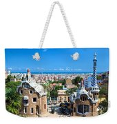 Park Guell In Barcelona Weekender Tote Bag