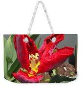 Parrot Tulip Named Rococo Weekender Tote Bag