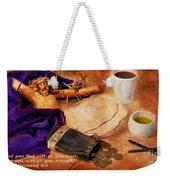 Passion Of Christ Weekender Tote Bag