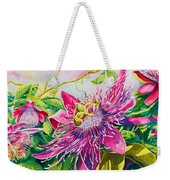 Passionflower Party Weekender Tote Bag