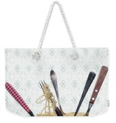 Pasta For Five Weekender Tote Bag by Joana Kruse