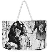 Patent Medicine Cartoon Weekender Tote Bag