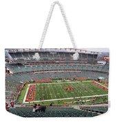 Paul Brown Stadium Weekender Tote Bag by Dan Sproul