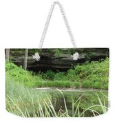 Peaceful Cavern  Weekender Tote Bag