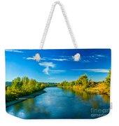 Peaceful Payette River Weekender Tote Bag