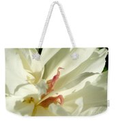 Peaceful Sentinel Of The White Peony Weekender Tote Bag
