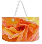Peach Rose Weekender Tote Bag