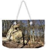 Peach Tree Rock-5 Weekender Tote Bag