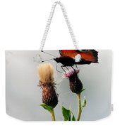 Peacock Butterfly Weekender Tote Bag