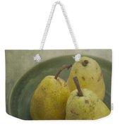 Pears Weekender Tote Bag by Priska Wettstein