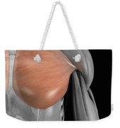 Pectoralis Major Muscle Weekender Tote Bag