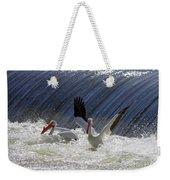 Pelican Drama Weekender Tote Bag