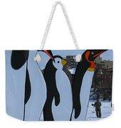 Penguins Weekender Tote Bag