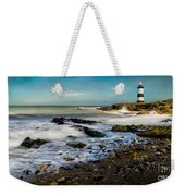 Penmon Lighthouse Weekender Tote Bag