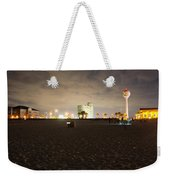 Pensacola Beach At Night Weekender Tote Bag