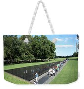 People At The Wall Weekender Tote Bag