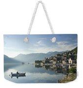 Perast Village In Montenegro Weekender Tote Bag