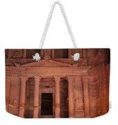 Petra By Night Weekender Tote Bag