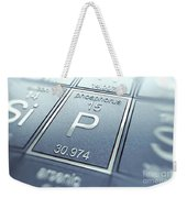 Phosphorus Chemical Element Weekender Tote Bag