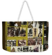 Photos Mexican Revolution Street Photographer's Shed Nogales Sonora Mexico 2003 Weekender Tote Bag
