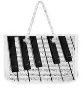Pianoforte Weekender Tote Bag