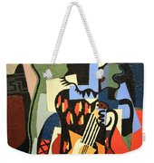 Picasso's Harlequin Musician Weekender Tote Bag