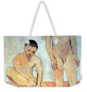 Picasso's Two Youths Weekender Tote Bag