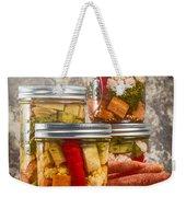 Pickled Vegetables Weekender Tote Bag