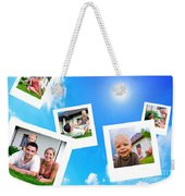 Pictures Of Happy Family Weekender Tote Bag