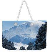 Pikes Peak Colorado Weekender Tote Bag