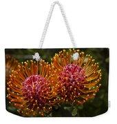 Pincushion Flowers Weekender Tote Bag