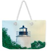 Piney Point Maryland Lighthouse Weekender Tote Bag