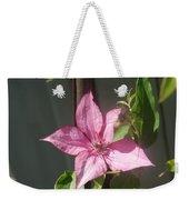 Pink  Clematis   # Weekender Tote Bag
