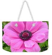 Pink Anemone  Weekender Tote Bag