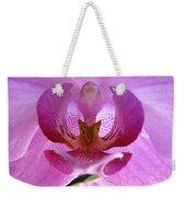 Pink Orchid Weekender Tote Bag