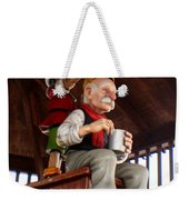 Pinocchio And Geppetto  Weekender Tote Bag