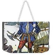 Pirate Edward England Weekender Tote Bag