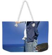 Pirate With Spyglass Weekender Tote Bag