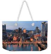 Pittsburgh At Dusk Weekender Tote Bag