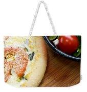 Pizza Weekender Tote Bag by Edward Fielding
