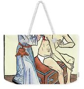 Plague Physician, 1482 Weekender Tote Bag