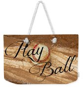 Play Ball Weekender Tote Bag