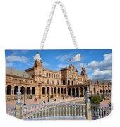 Plaza De Espana In Seville Weekender Tote Bag