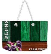 Plum Farm Weekender Tote Bag