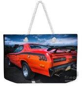 Plymouth Duster 340 Weekender Tote Bag