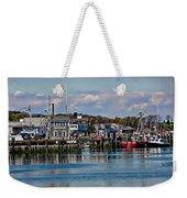 Plymouth Harbor Weekender Tote Bag
