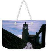 Point Conception Lighthouse Weekender Tote Bag