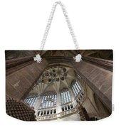 pointed vault of Saint Barbara church Weekender Tote Bag
